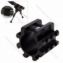 Airsoft puska, légpuska csőre szerelhető rail szerelék, col, 2.54 mm