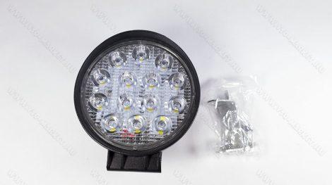 Autós tolatólámpa, LED kamion lámpa, LED munkalámpa, 42W kör