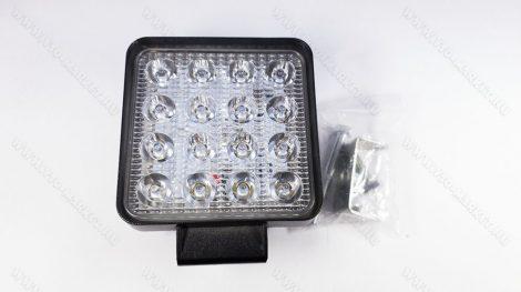 Autós tolatólámpa, LED kamion lámpa, LED munkalámpa, 48W négyzet