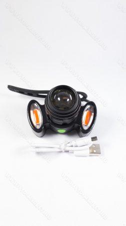 Nagyméretű T6 LED bringalámpa, T6 LED biciklilámpa, kerékpár T6 LED világítás, + piros LED