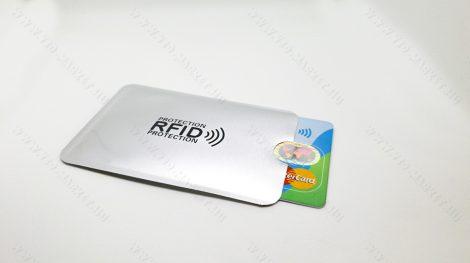 RFID bankkártya védő tok, bankkártya lopásgátló tok, 2db