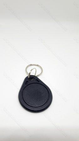 RFID kulcstartó, 13.56 Mhz RFID, NFC írható és olvasható chip, Fekete
