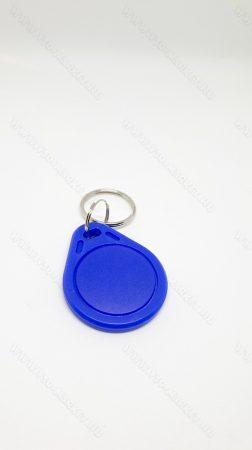 RFID kulcstartó, 13.56 Mhz RFID, NFC írható és olvasható chip, Kék
