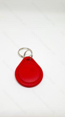 RFID kulcstartó, 13.56 Mhz RFID, NFC írható és olvasható chip, Piros