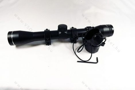 Légpuska, airsoft céltávcső, távcső 3-9x32 zoom
