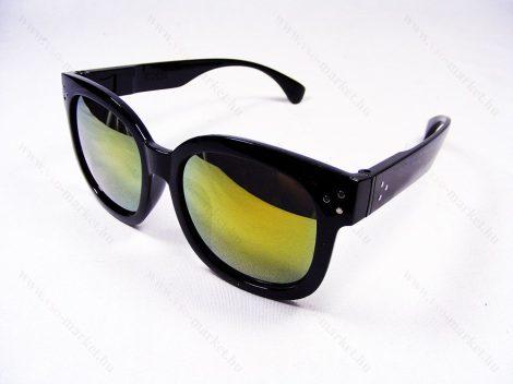 Aviator nagy Napszemüveg UV400 sárga lencse