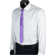 Lila slim, vékony nyakkendő