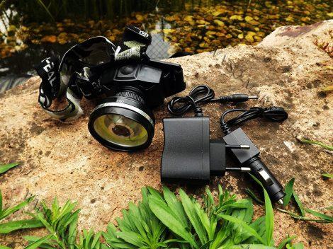 Horgász Dupla CREE COB LED Fejlámpa, LED COB makró világítás