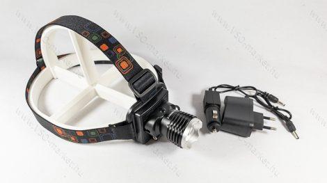 Q5 CREE zoom LED Fejlámpa, akkumulátoros fejlámpa