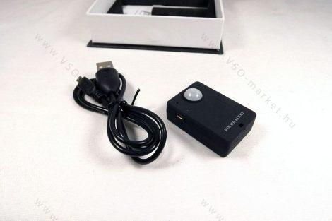 Vezeték nélküli, GSM mozgásérzékelős, néma riasztó, telefonhívó eszköz