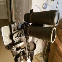 Céltávcső, távcső kamera adapter, univerzális kamera rögzítő, könnyített