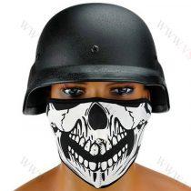 Koponya mintázatú maszk, motoros, airsoft, csontváz, skull Vastag