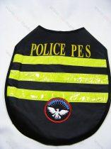 Kutyaruha, kutya esőkabát, Police Security M