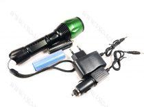 LED lámpa, zseblámpa, akkumulátoros tölthető elemlámpa, autós Q5 cree LED zoom