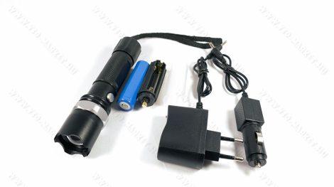 LED lámpa, zseblámpa, akkumulátoros tölthető elemlámpa, autós Q5 cree LED klikk zoom