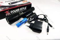 LED lámpa, zseblámpa, akkumulátoros tölthető elemlámpa, autós Q5 Cree zoom