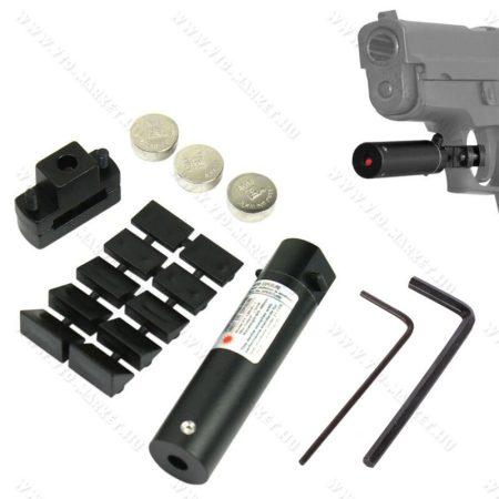 Lézercélzó, airsoft pisztoly, vagy légpisztoly ravaszra rögzíthető (sátorvasra) lézer pointer