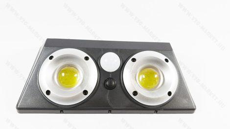 Napelemes mozgásérzékelős kültéri akkumulátoros nagymáretű LED lámpa
