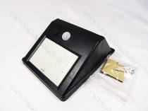 Napelemes mozgásérzékelős kültéri akkumulátoros LED lámpa
