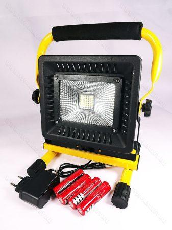 LED reflektor, LED szerelőlámpa, állványos szerviz lámpa, tölthető 36 LED