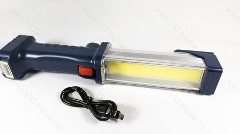 COB LED szerelő lámpa, mágneses LED szerviz lámpa, tölthető lámpa Power Bank