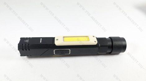 COB LED szerelő lámpa, mágneses dupla LED szerviz lámpa, Nagyméretű USB tölthető lámpa