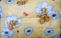 Gyerek paplan, babatakaró, ovis paplan garnitúra sárga méhecskés