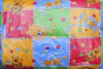 Gyerek paplan, babatakaró, ovis paplan garnitúra színes állatos