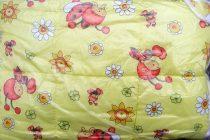 Gyerek paplan, babatakaró, ovis paplan garnitúra zöld pillangós