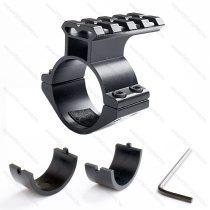 Airsoft puska, légpuska céltávcső rail szerelék, 25.4 / 30 mm