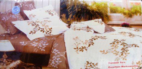 3 részes ágyneműhuzat garnitúra, krém virágos
