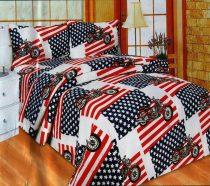 7 részes ágynemű garnitúra, Chopper, amerika zászló