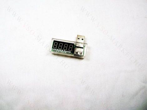 USB Charger Doctor, Voltmérő, feszültég, áram felvétel mérő