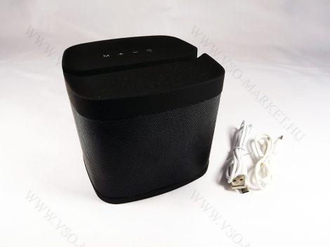 Okostelefon tartós Bluetooth MP3 kihangosító, zene lejátszó,  Speaker nagyméretű fekete