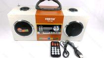 Bluetooth MP3, AUX, akkumulátoros hordozható zenelejátszó, USB hangfal rádió