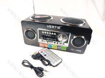 Bluetooth MP3, AUX, zenelejátszó USB hangfal rádió