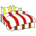 6 részes 2 színű pamut ágynemű, ágyneműhuzat garnitúra