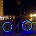 Világító LED-es szelepsapka