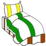 3 részes 2színű, pamut ágynemű, ágyneműhuzat garnitúra